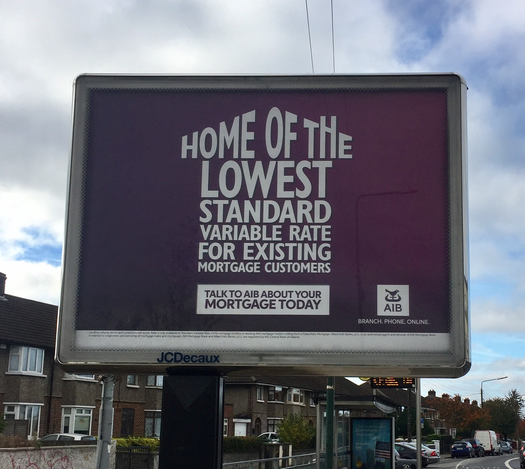 AIB – home of the lowest standard variable rate for existing mortgage customers