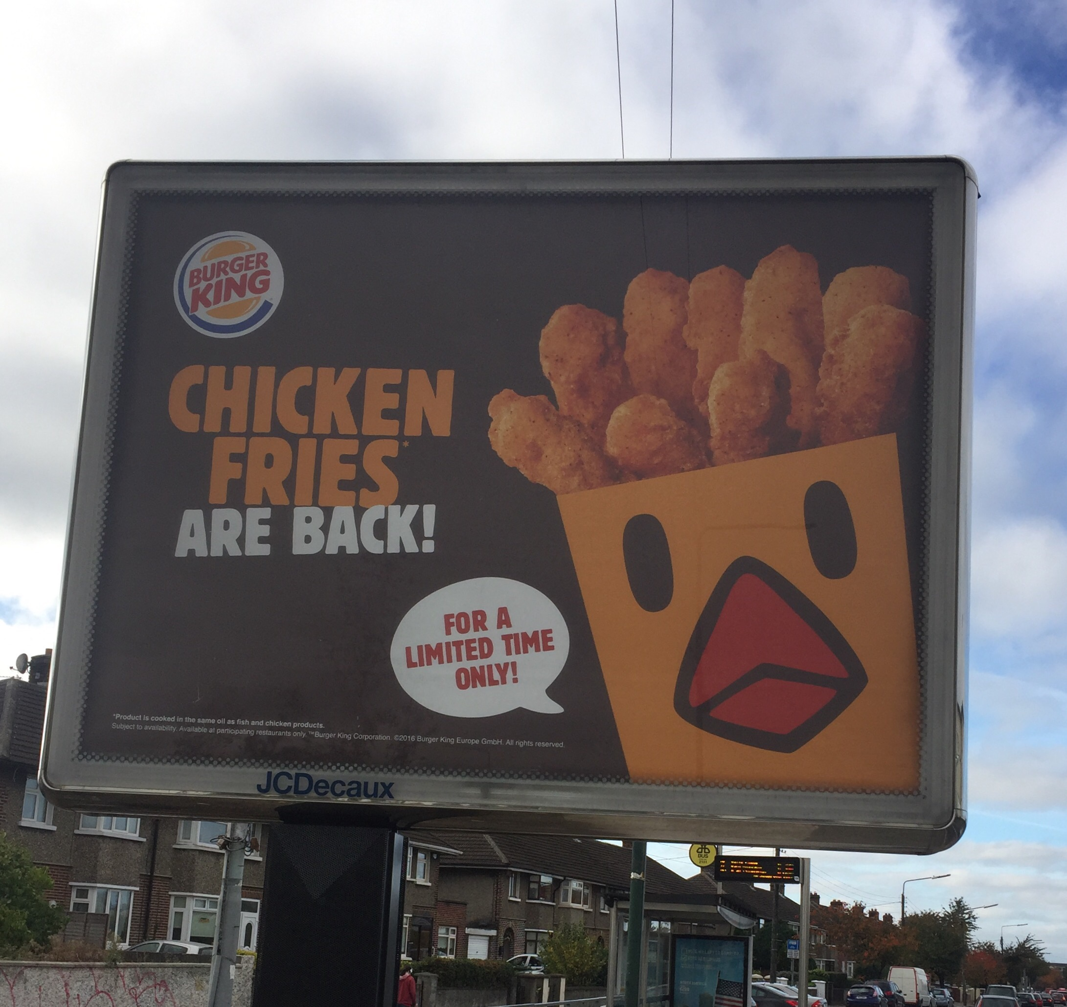 Ana Maria Polvorosa Follando burger king - chicken fries are back - smart media