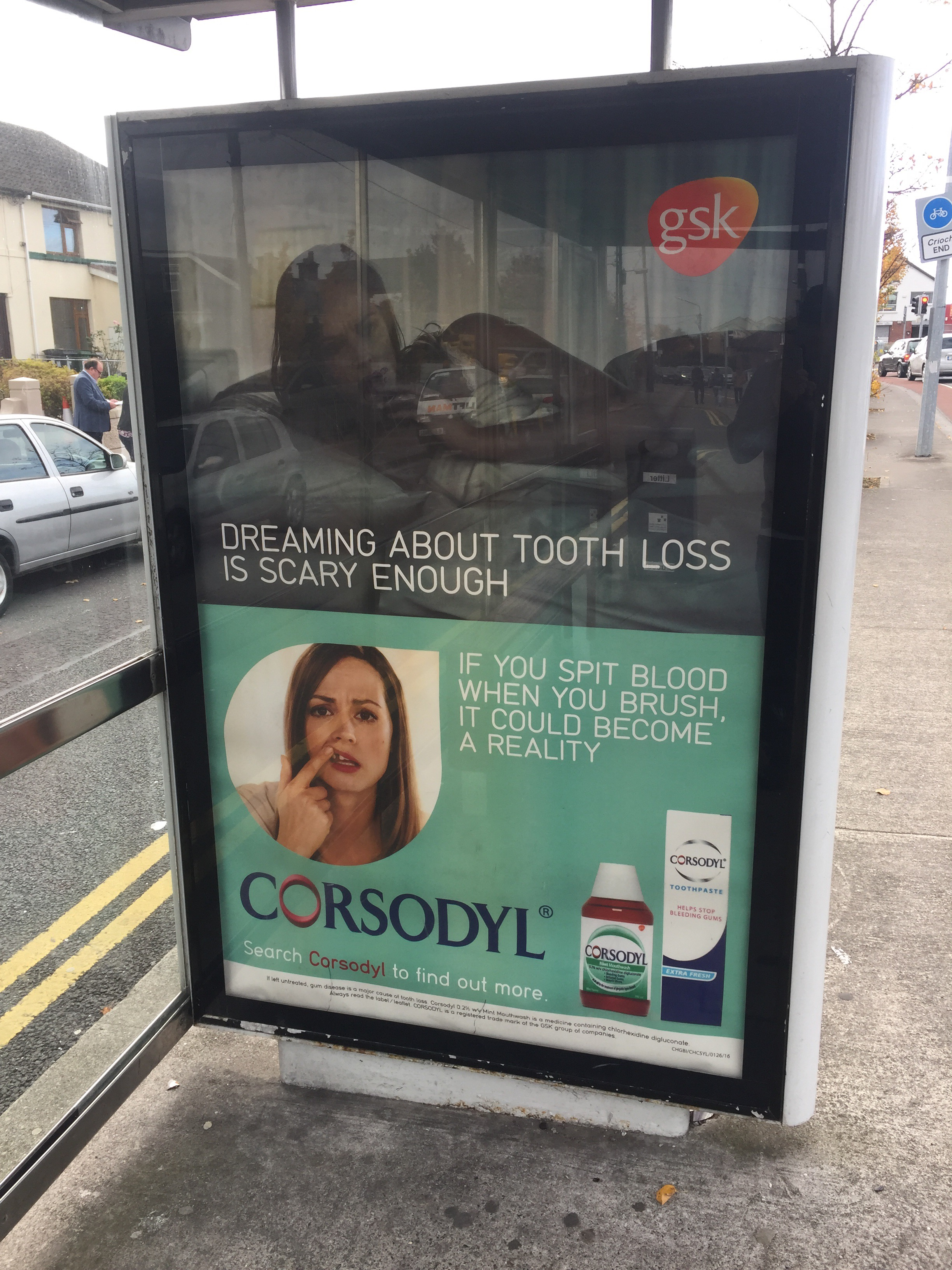 GSK- Corsodyl – Dreaming about tooth loss is scary enough