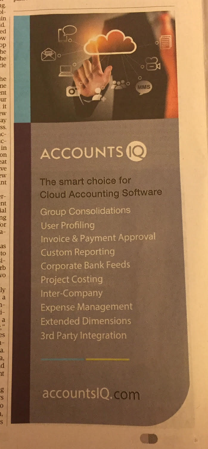 Accounts IQ – The smart choice for cloud accounting software