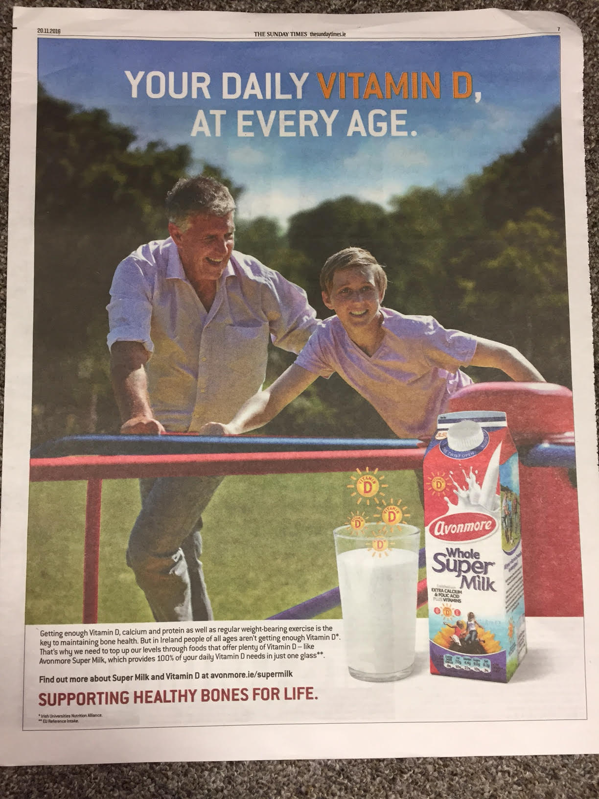 Avonmore – your daily vitamin D, at every age