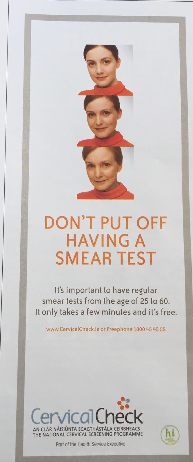 CervicalCheck – Don't put off having a smear test