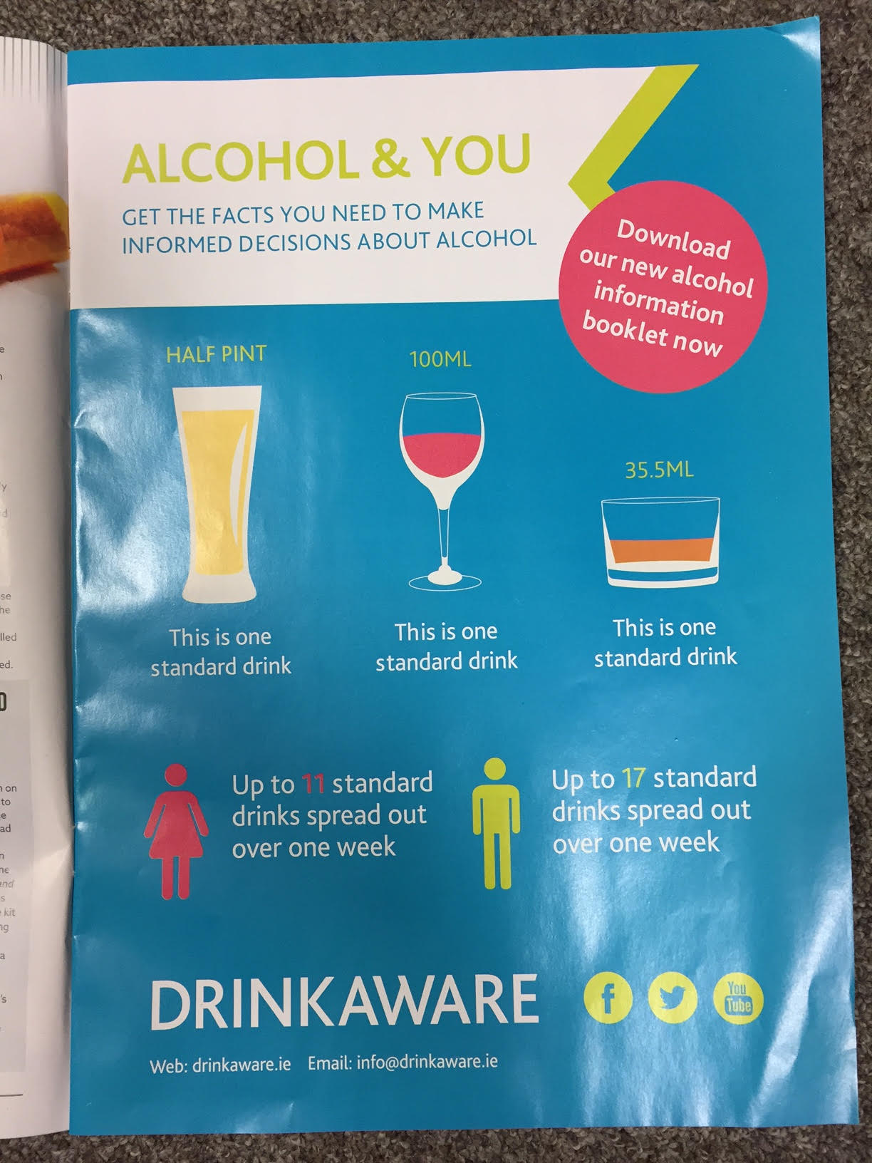 Drink Aware – Alcohol & You