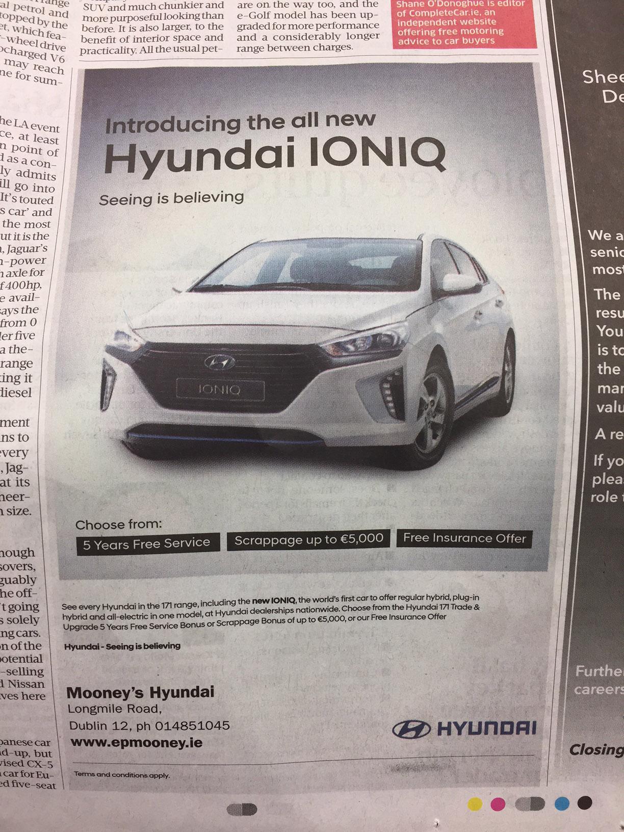 Hyundai – introducing the all new Hyundai IONIQ