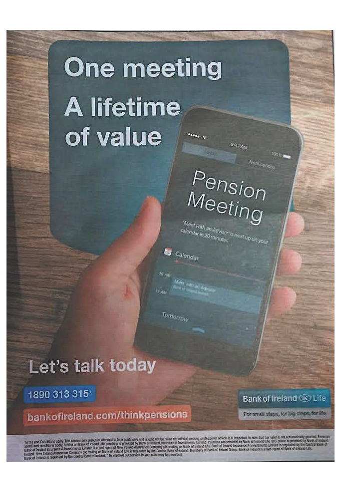 Bank of Ireland – One meeting a lifetime of value