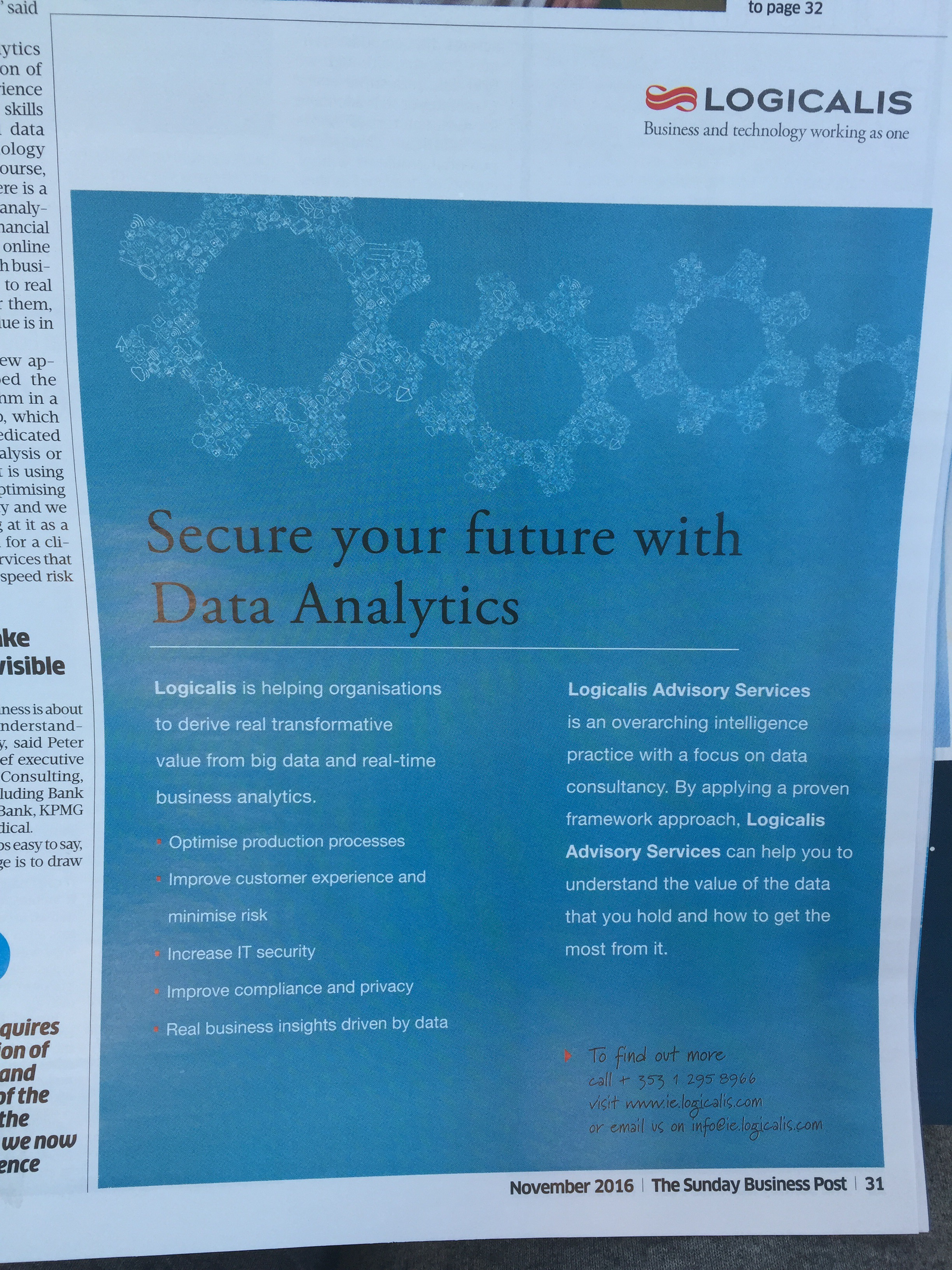 Logicalis – secure your future with data analytics