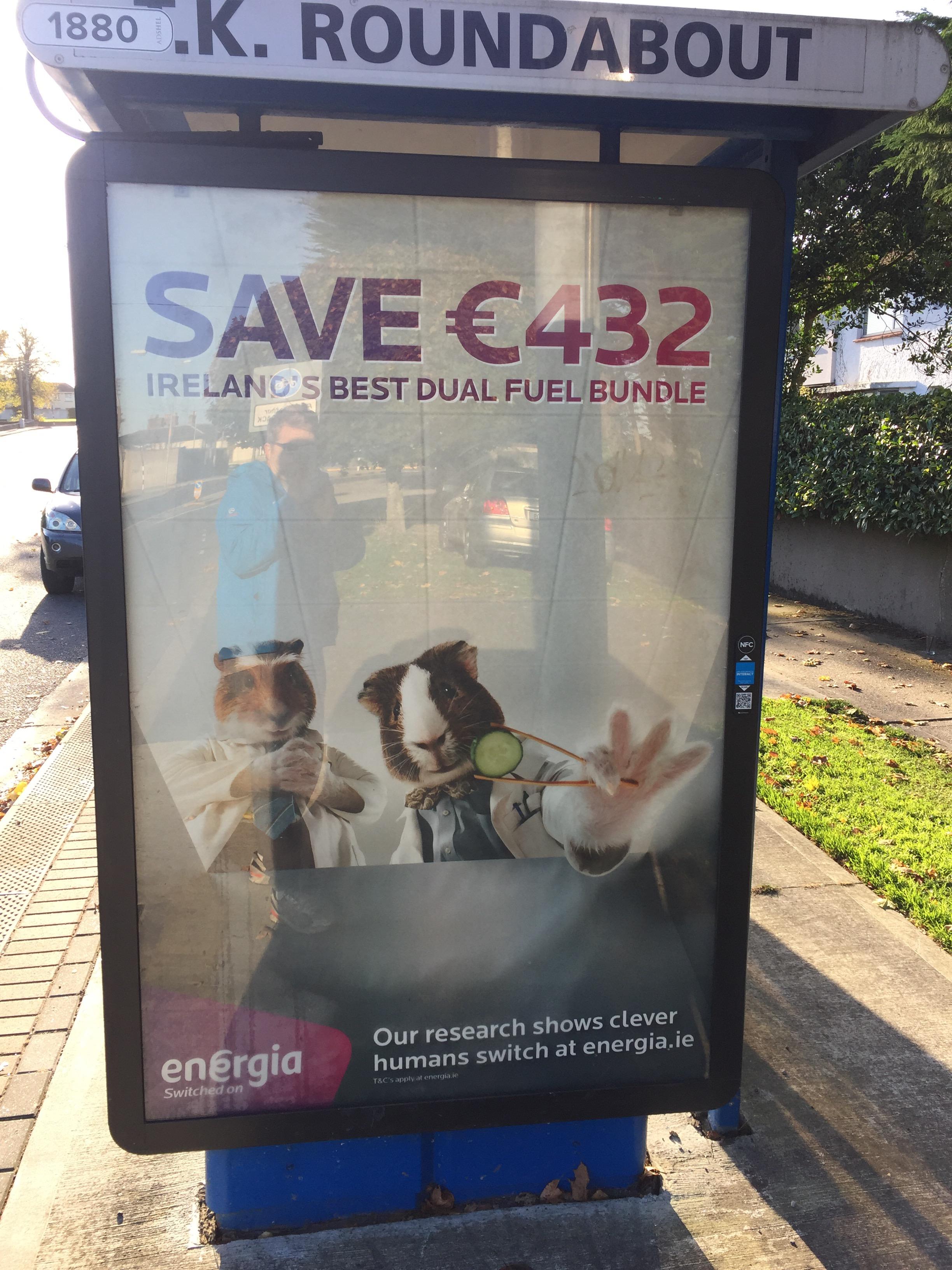 Energia – save €432 Ireland's best dual fuel bundle