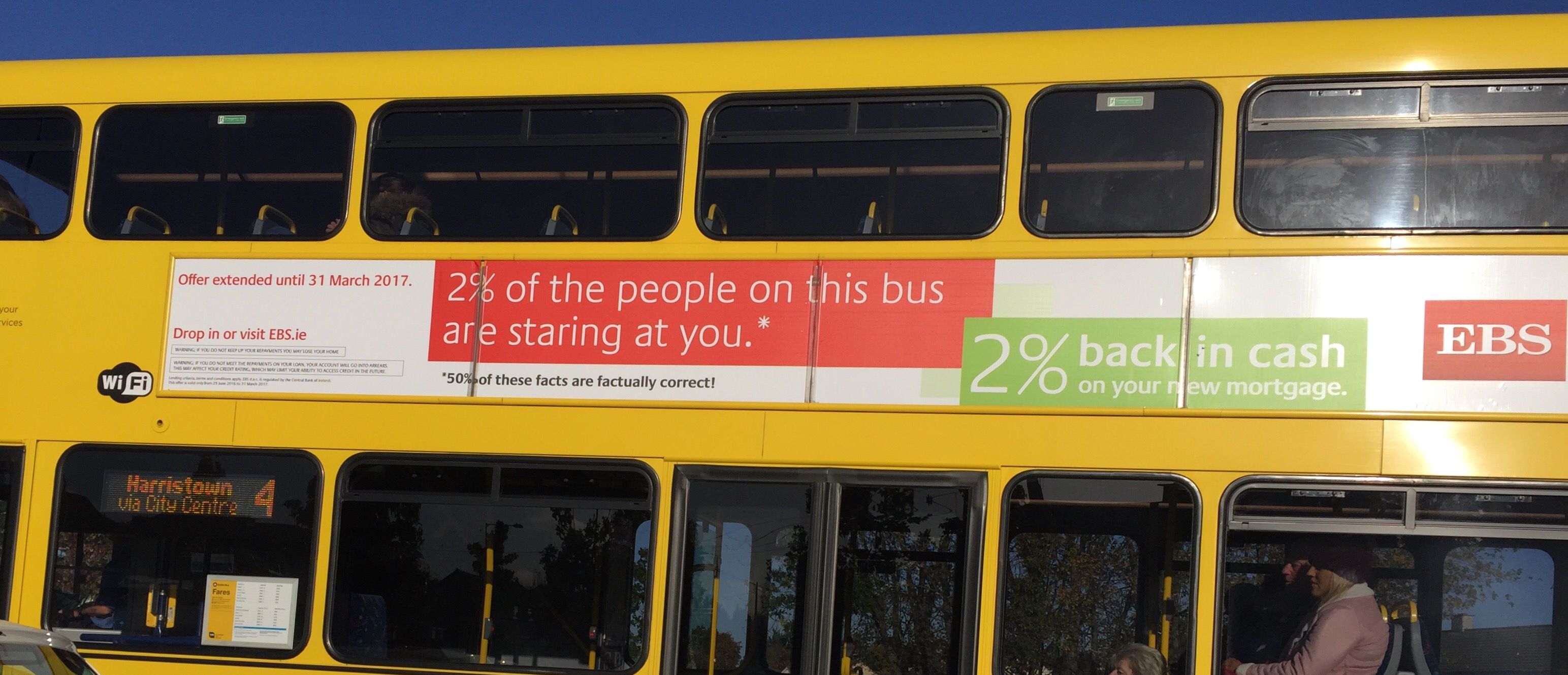 EBS – 2% of the people on this bus are staring at you