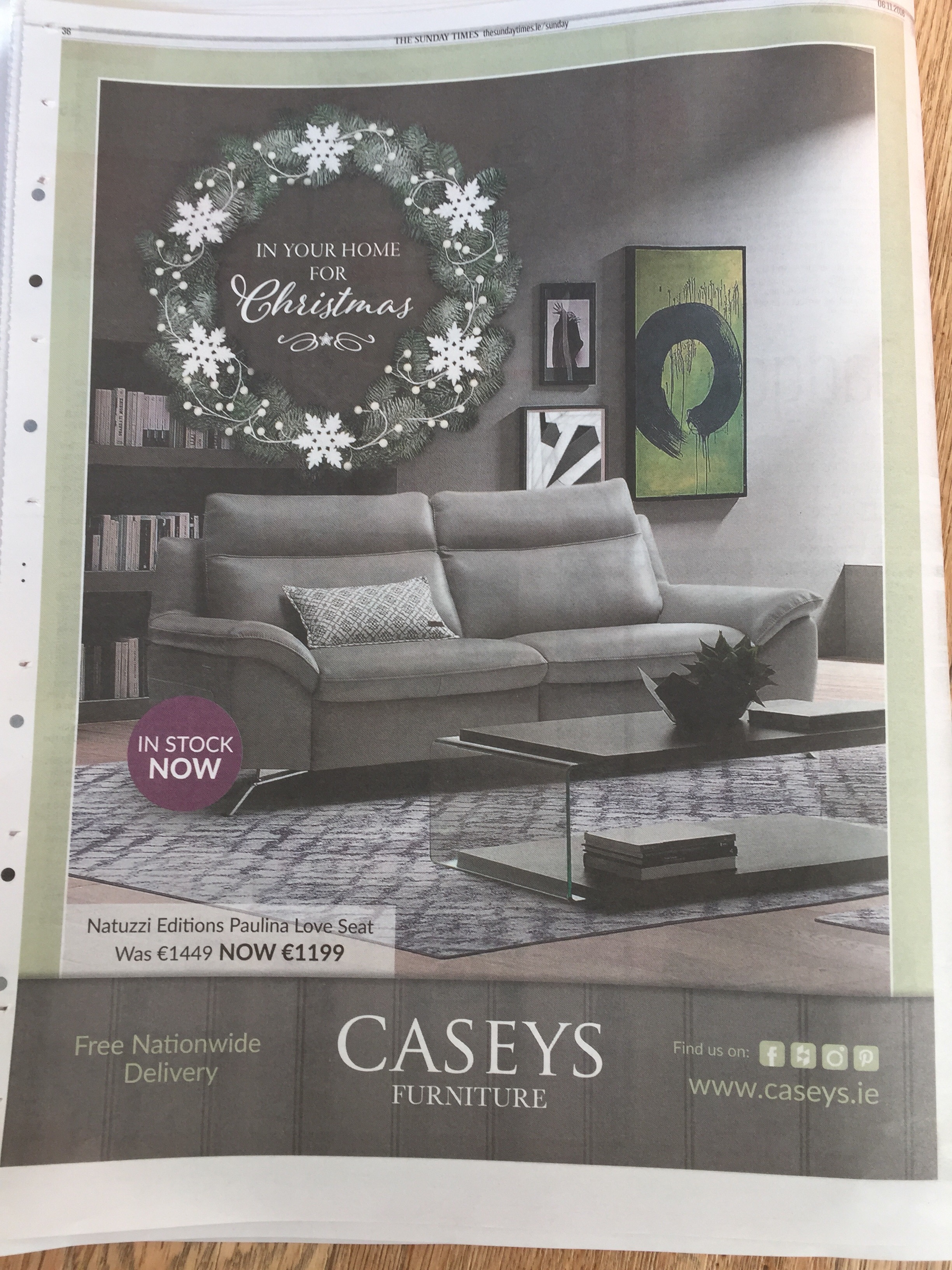 Casey's – in your home for Christmas