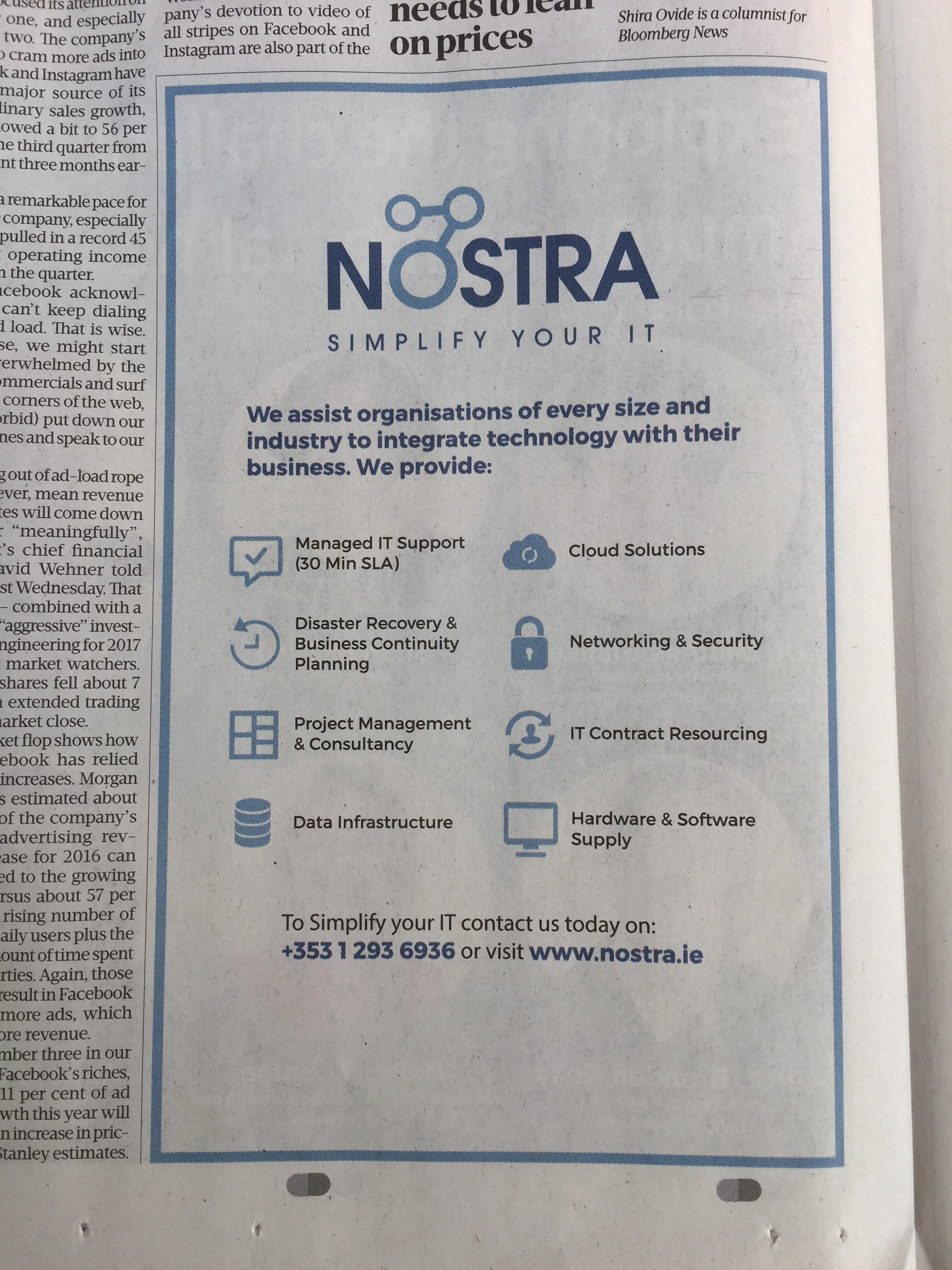Nostra – simplify your IT