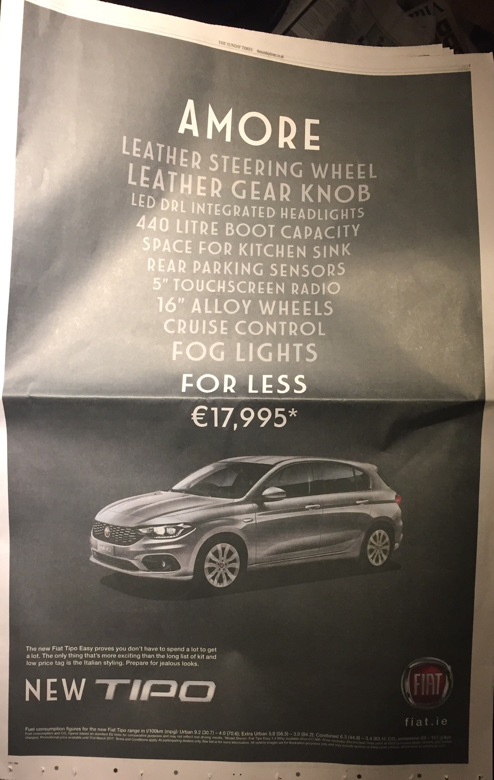 Fiat new Tipo – Amore