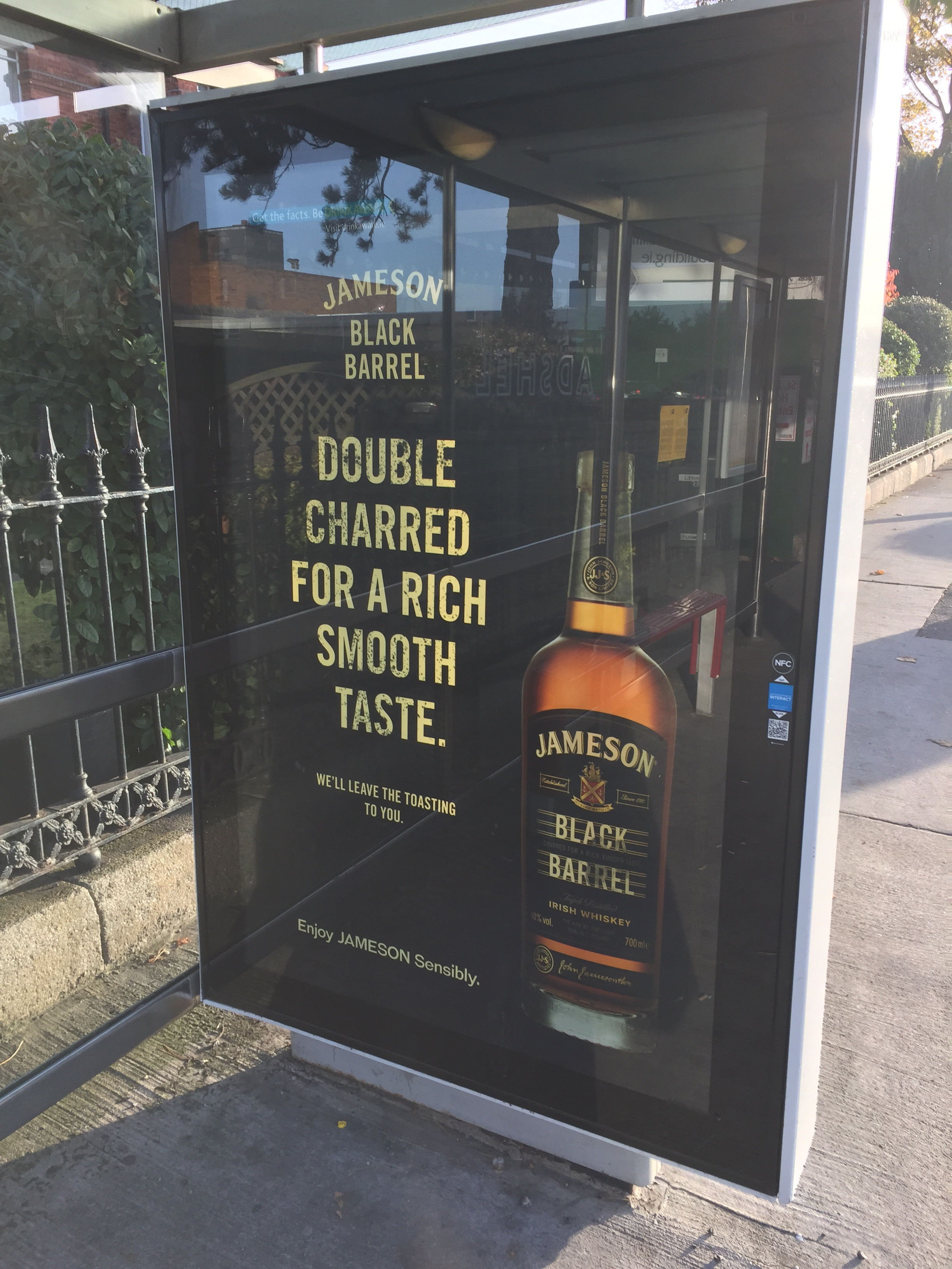 Jameson black barrell – double charred for a rich smooth taste