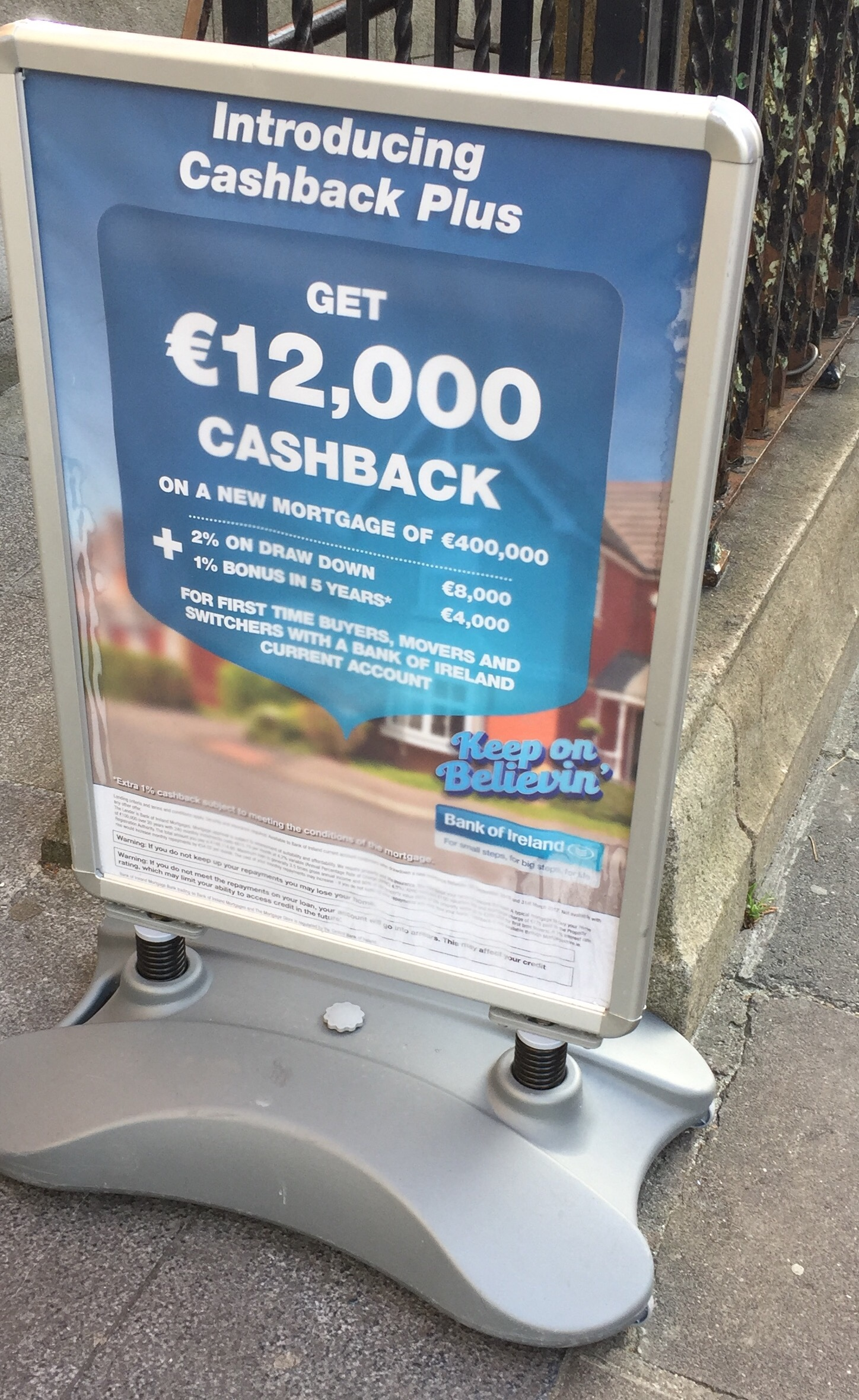 Bank of Ireland – introducing cash back plus – get €12,000 cashback