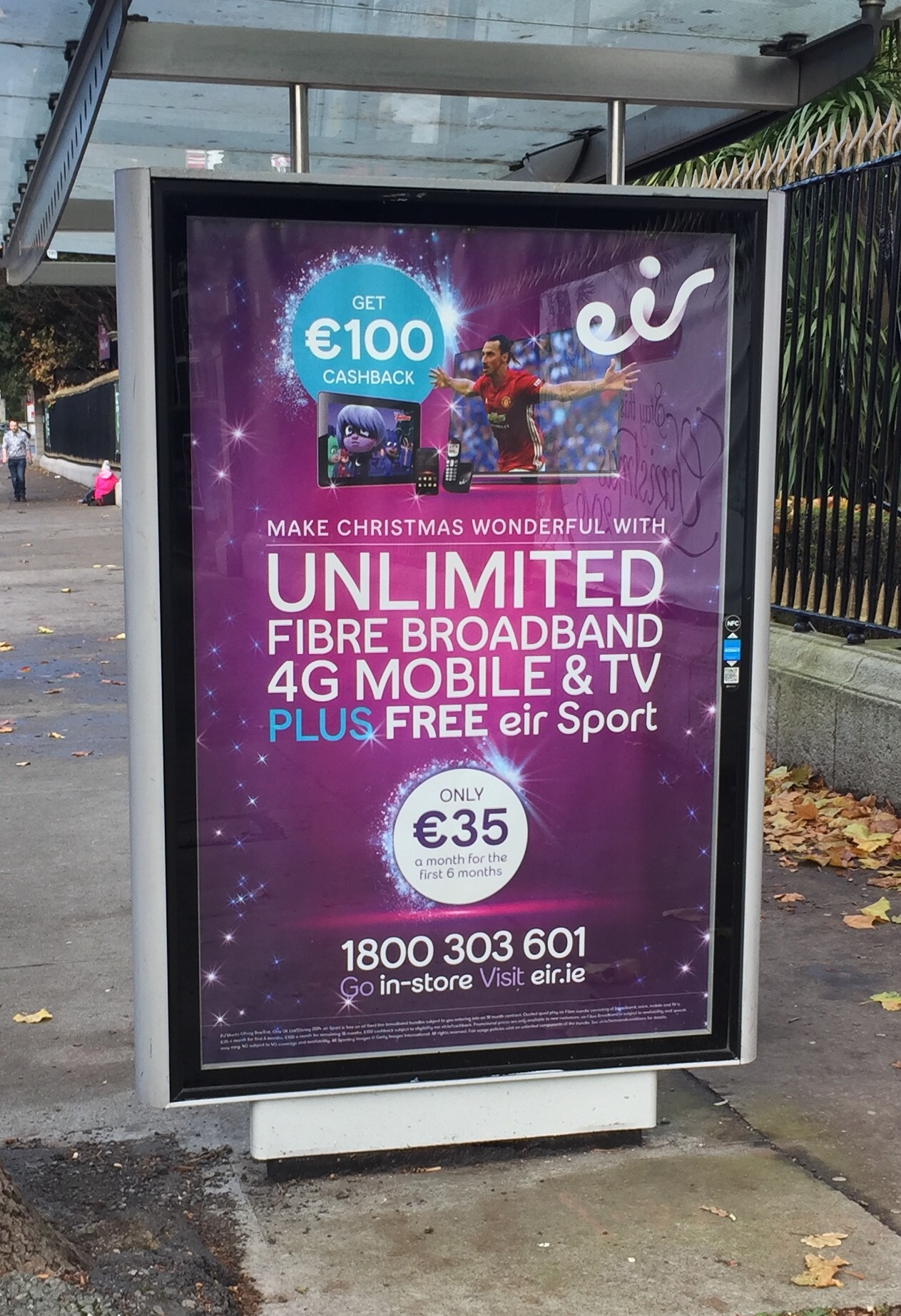 Eir – make Christmas wonderful with unlimited fibre broadband 4g mobile & tv plus free eir sport