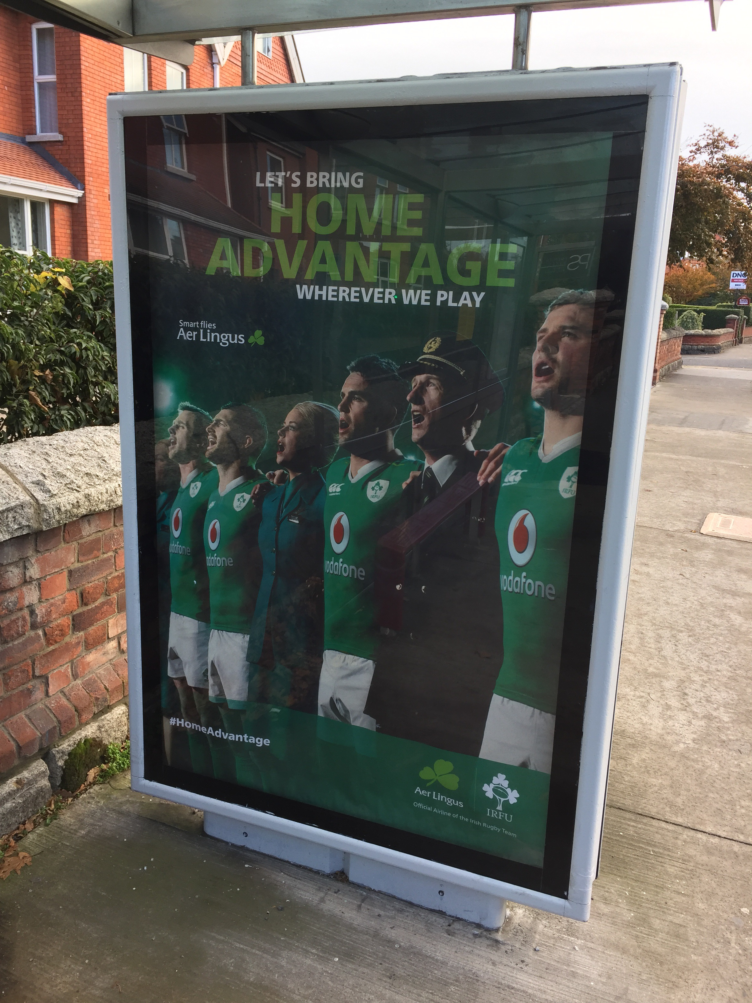 Aer Lingus – Let's bring home advantage wherever we play
