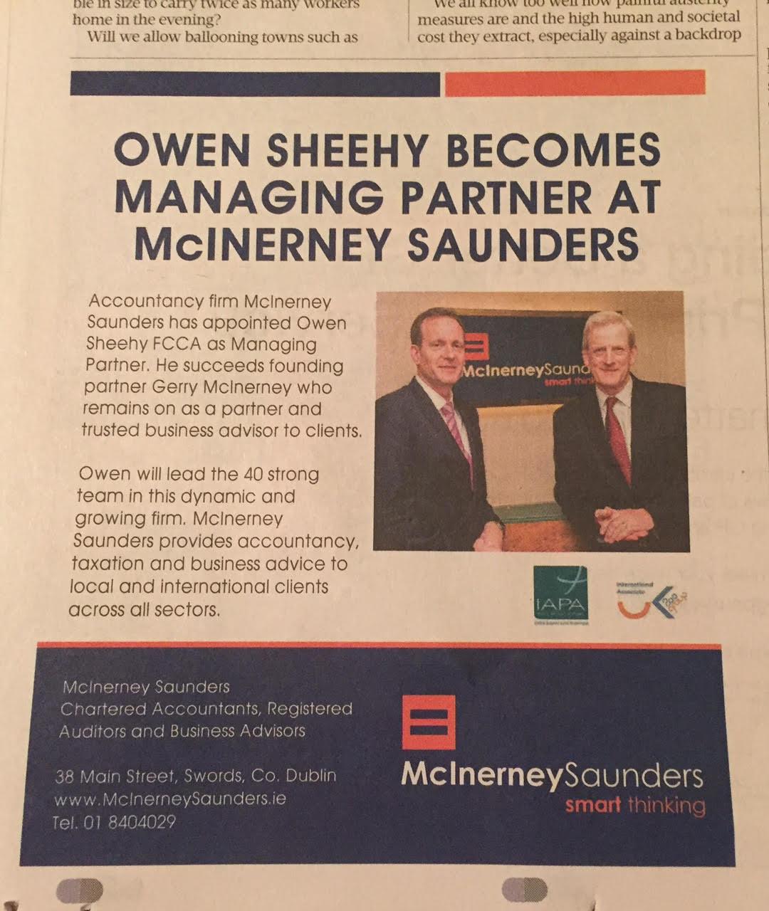McInerney Saunders