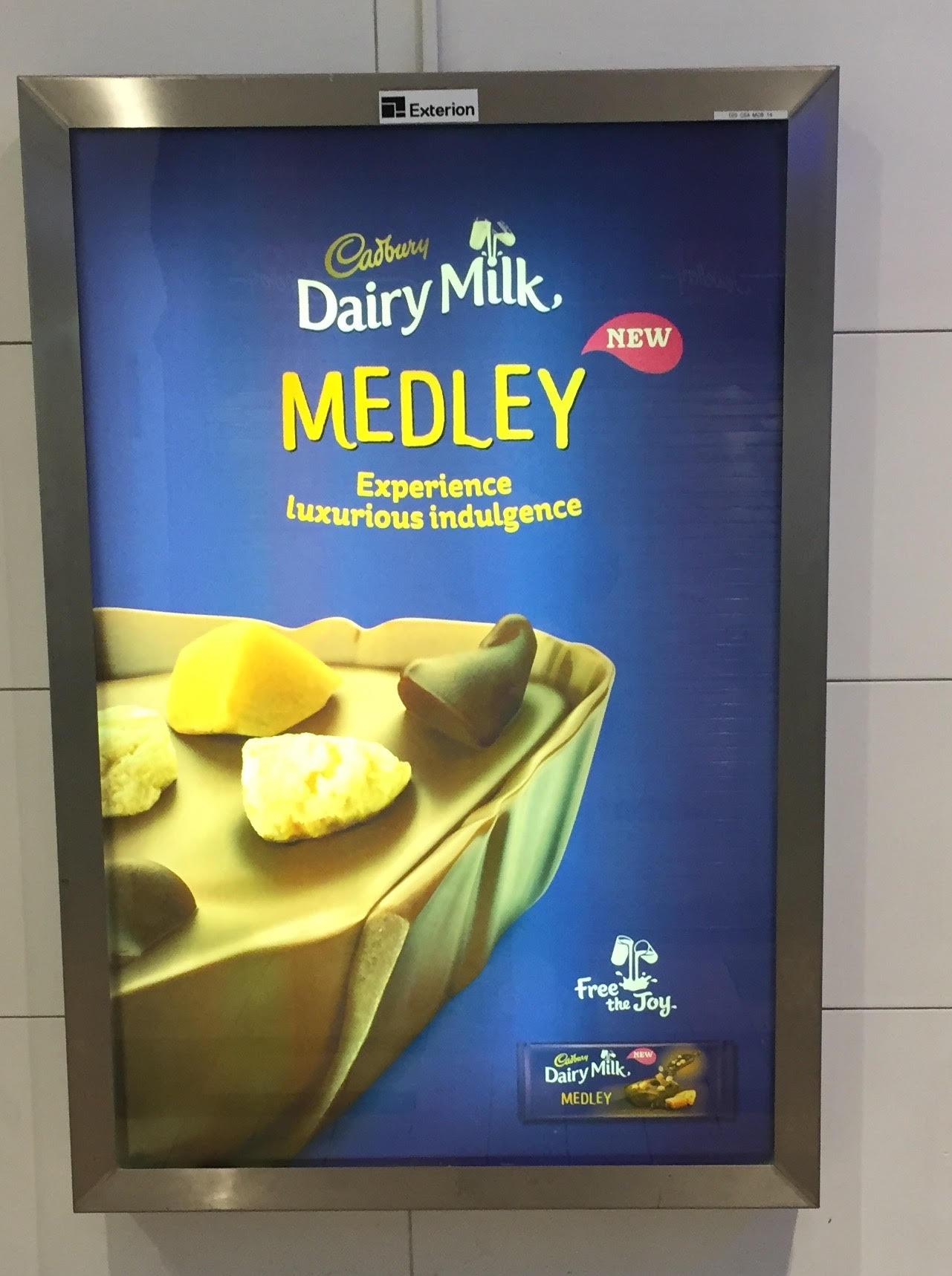 Cadbury Dairy Milk Medley – experience luxurious indulgence