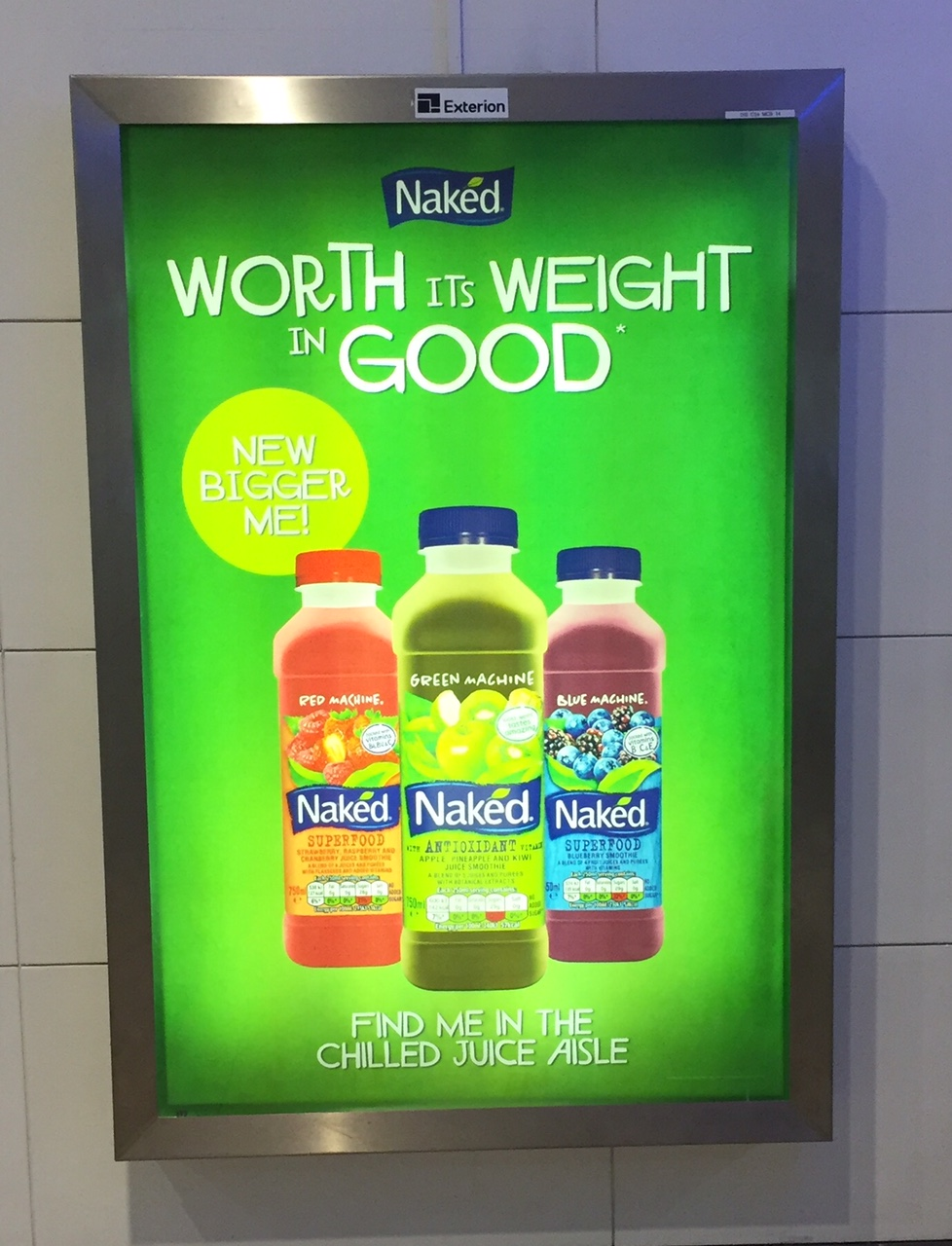 Naked – worth its weight in good