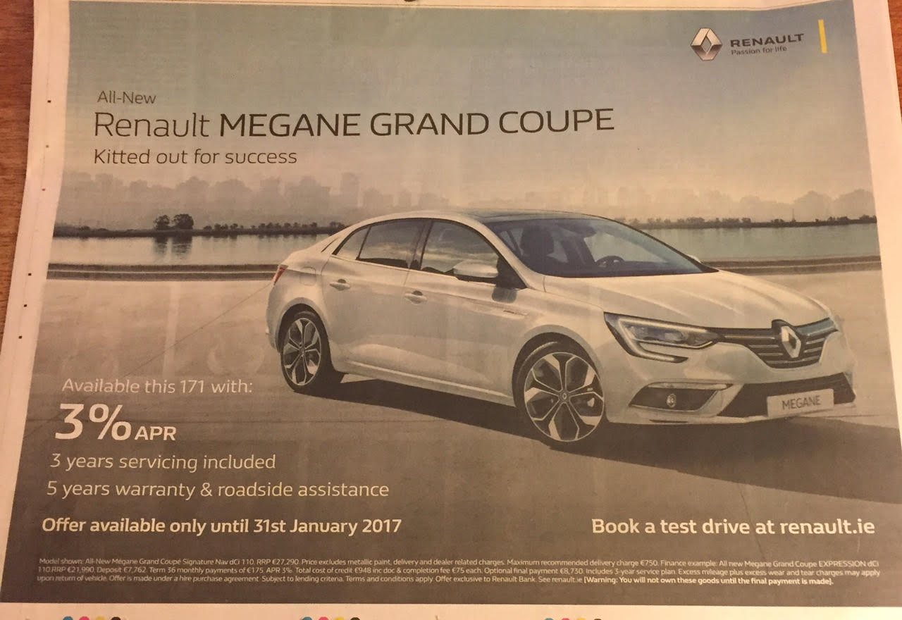 Renault – all new Renault Megane Grand Coupe