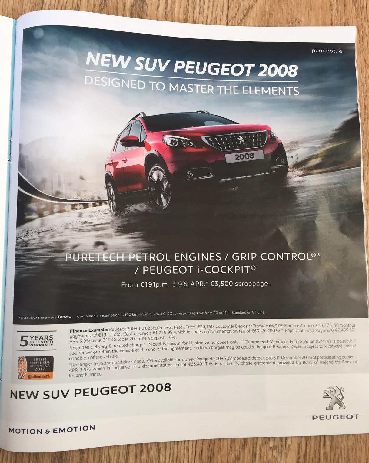 New SUV Peugeot 2008 – Designed to master the elements