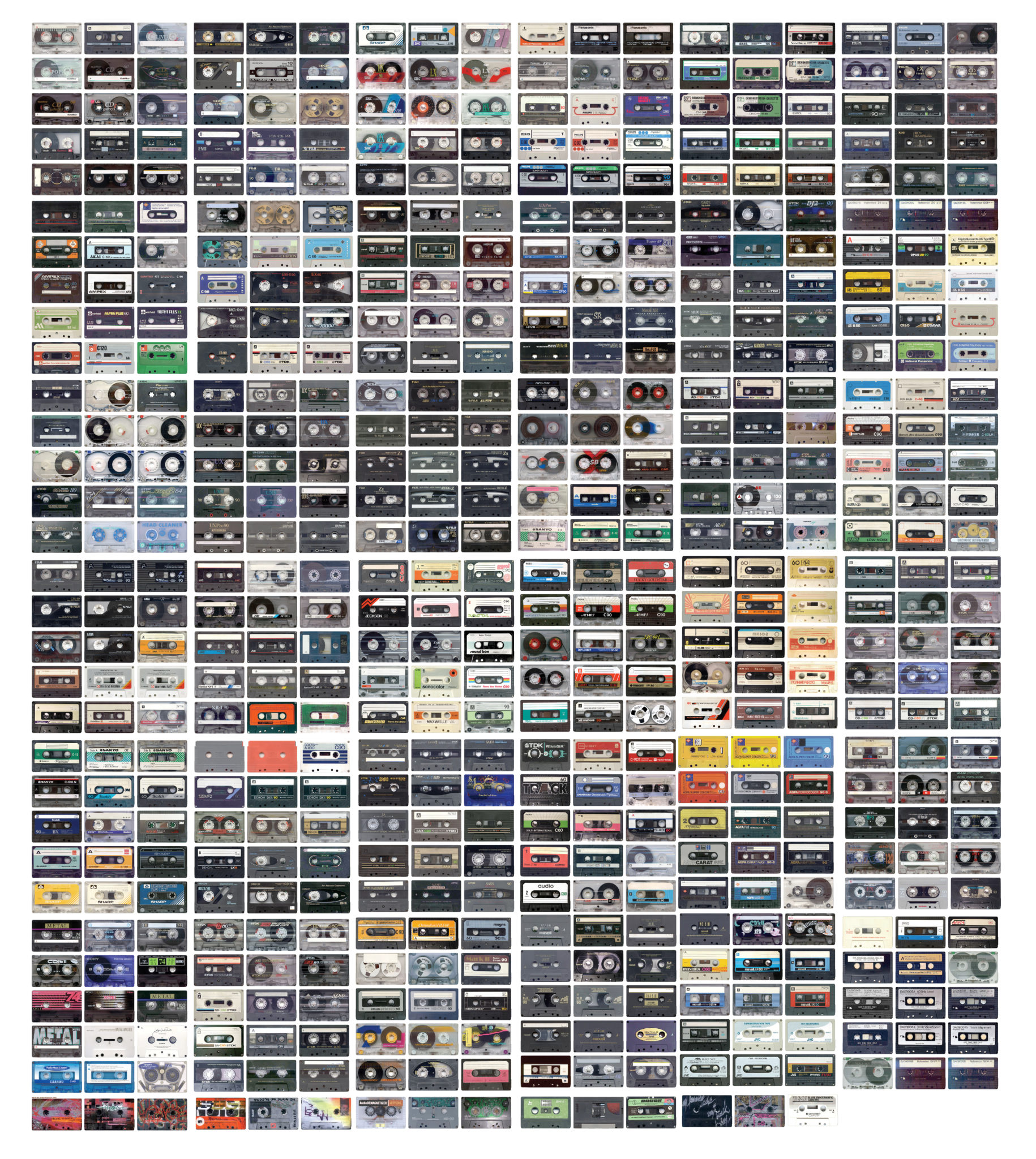 Tapes – a random poster with tapes