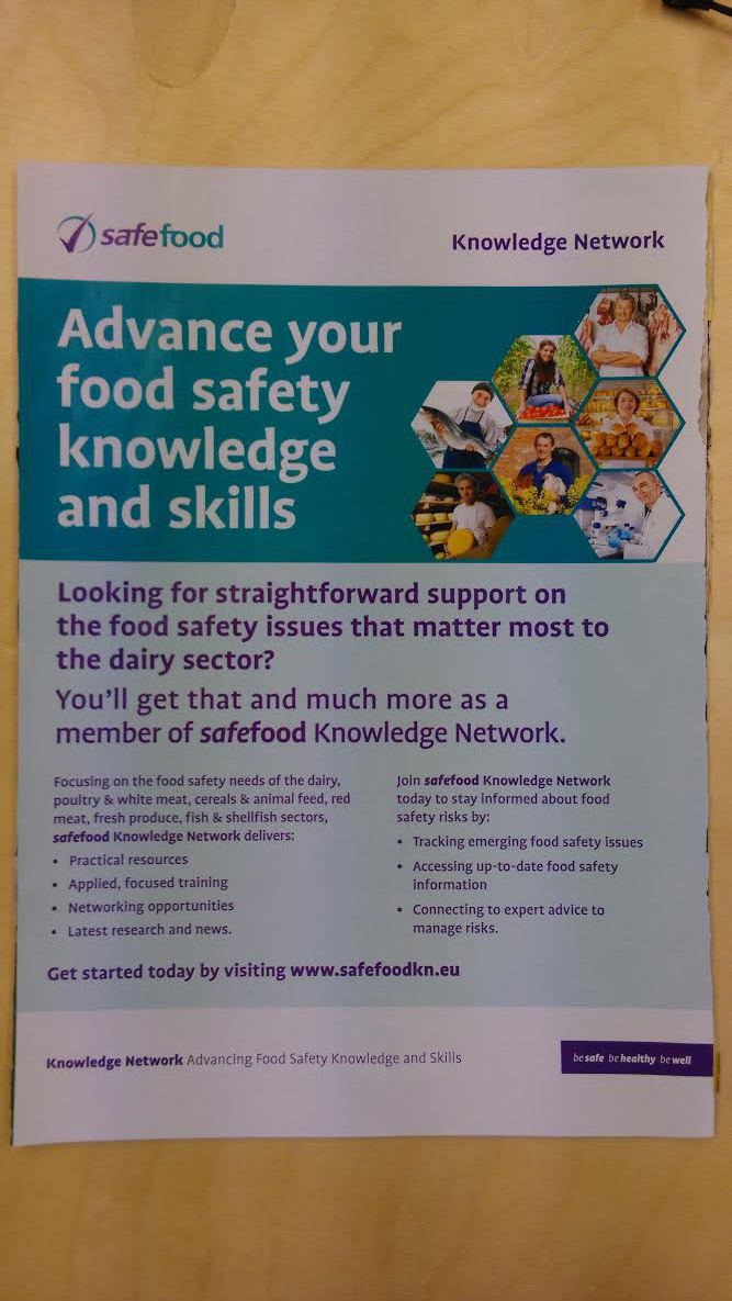 Safe food knowledge network