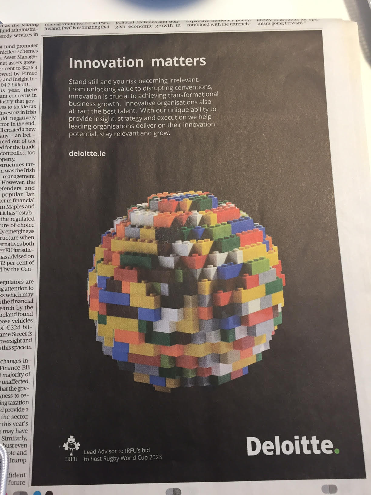 Deloitte – Innovation matters