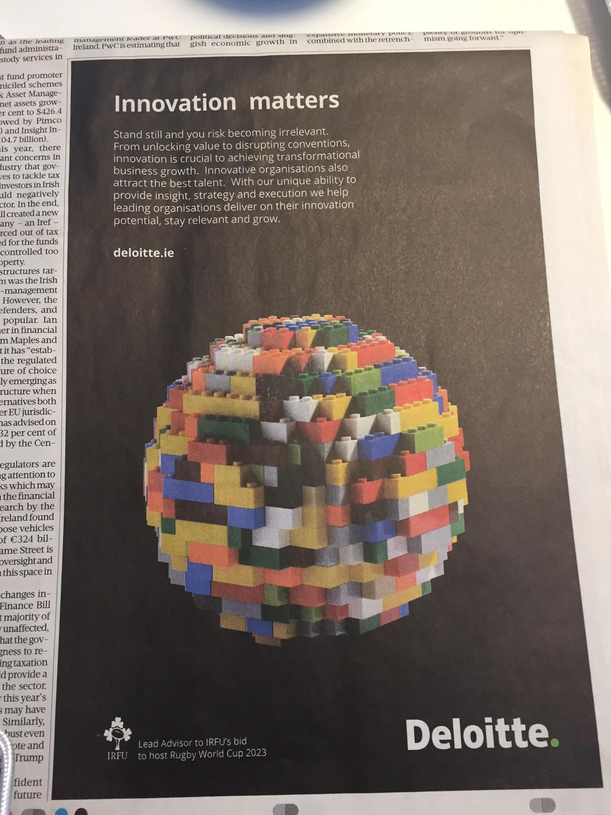 Deloitte – Innovation matters