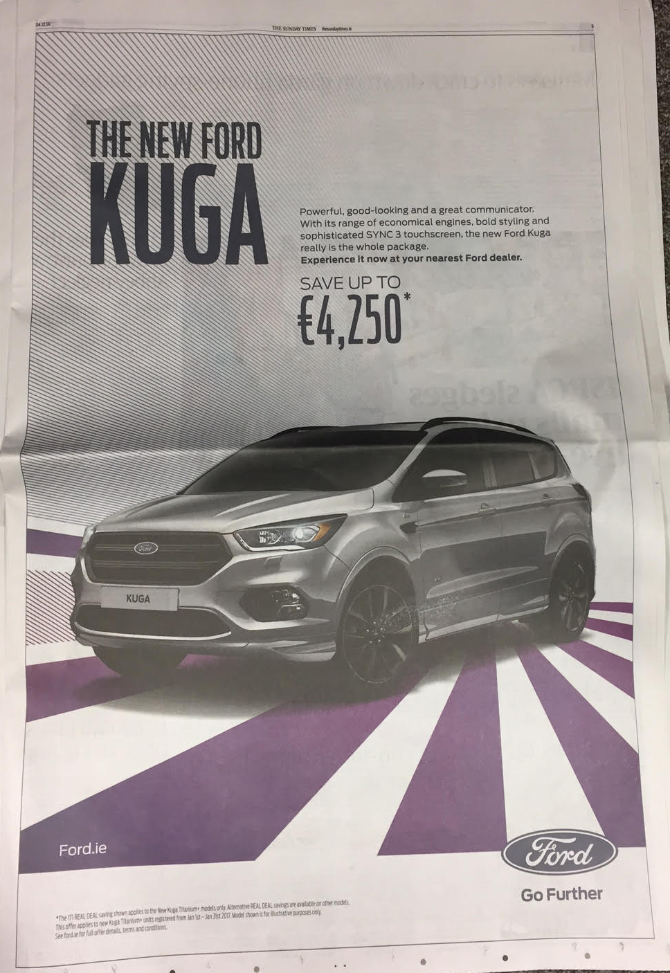 Ford Kuga – the new Ford Kuga save up to €4,250
