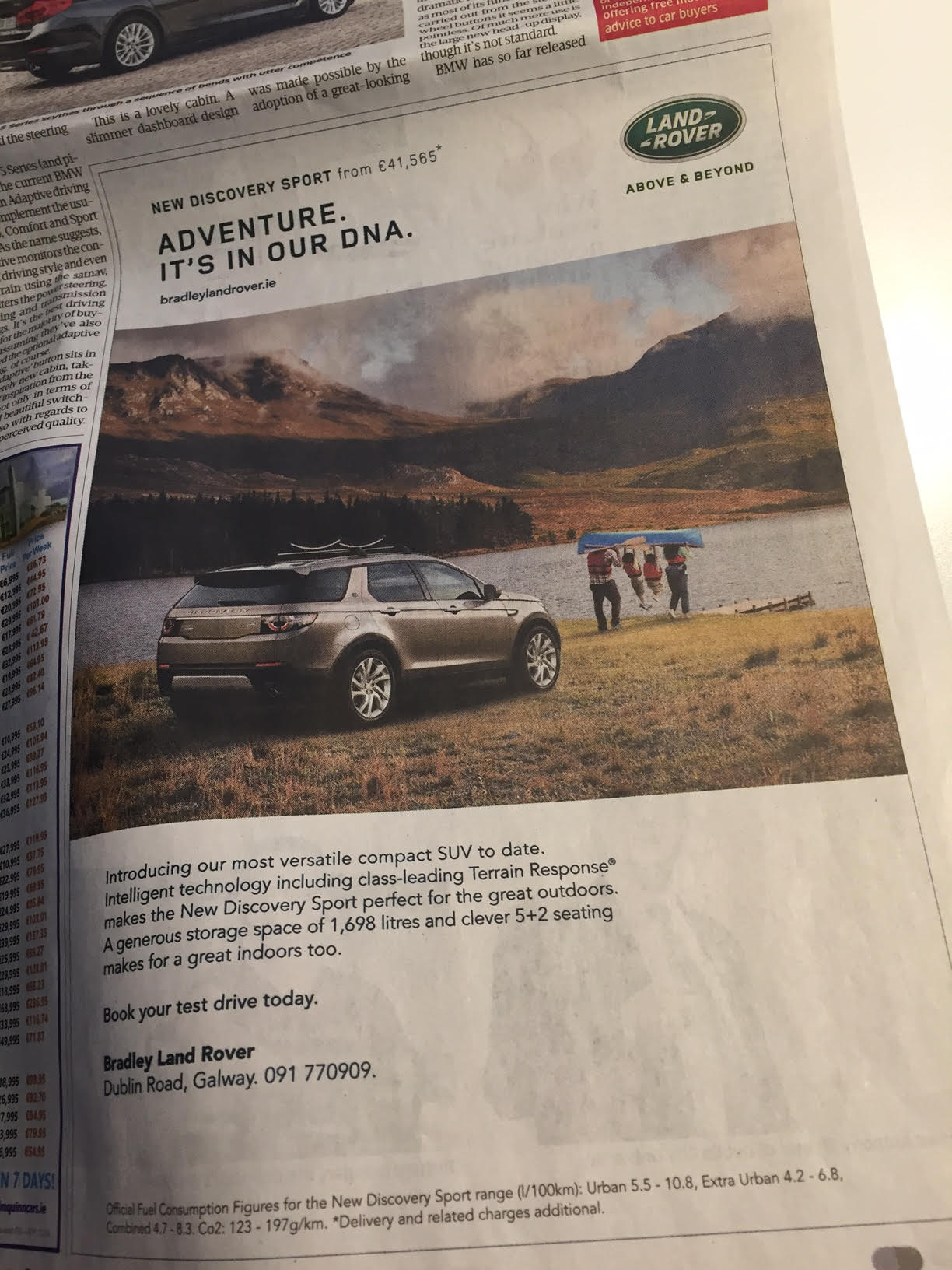 Land Rover – Adventure. It's in our DNA.