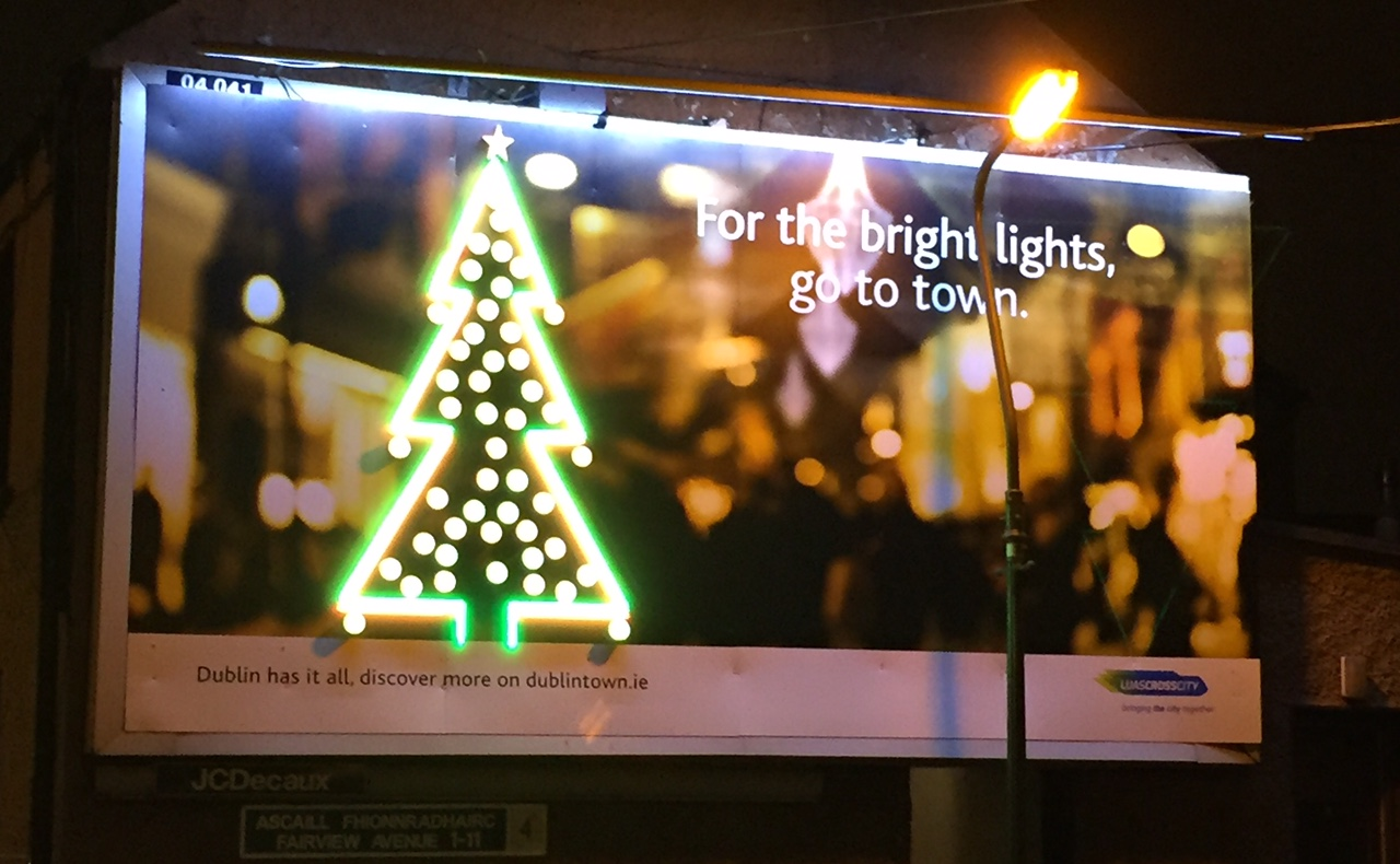 Luas cross city – for the bright lights go to town