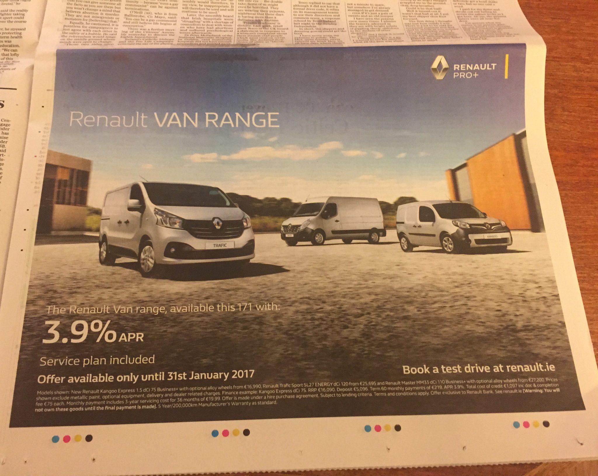 Renault Pro – Renault van range