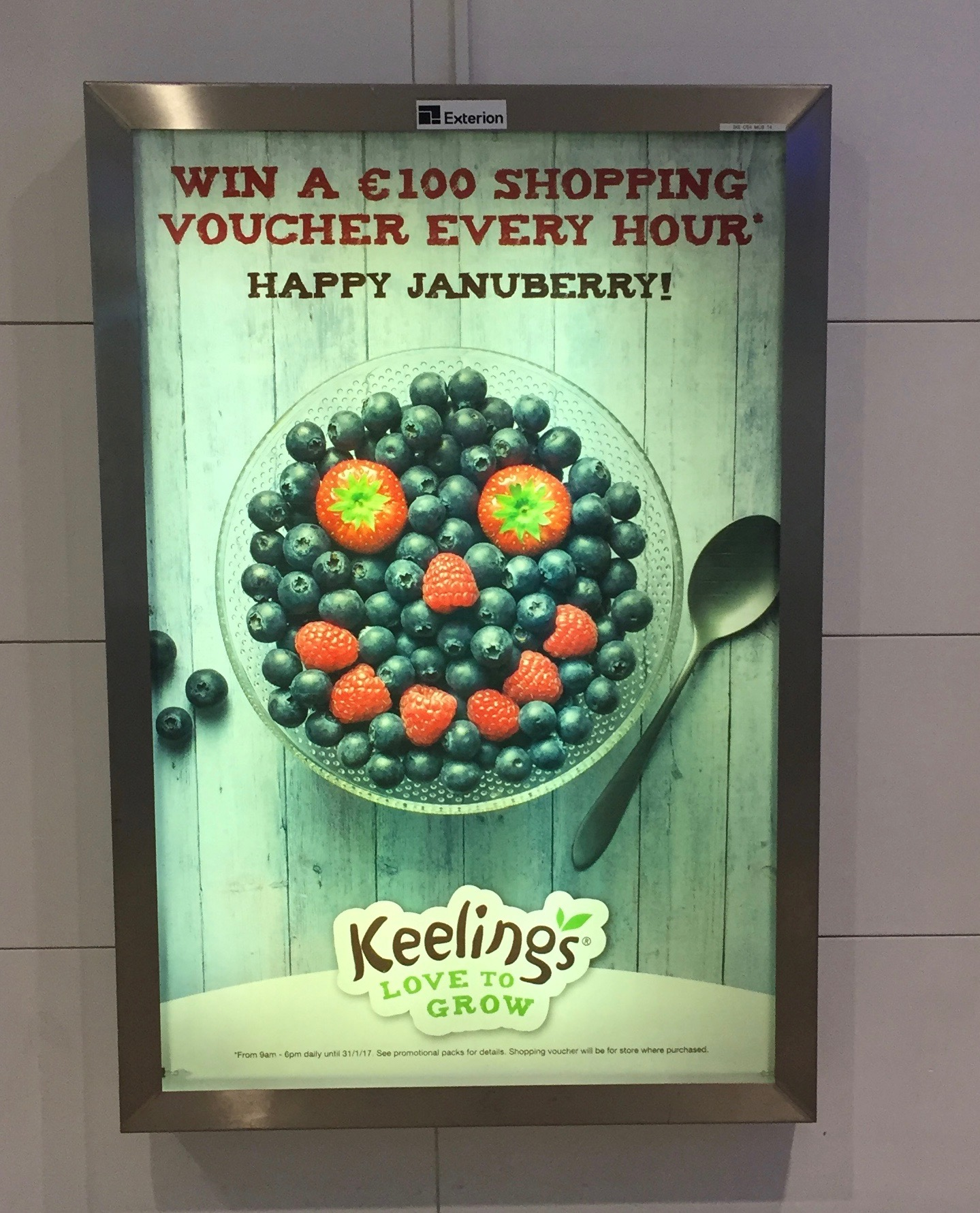 Keelings- win a €100 shopping voucher every hour – Happy Januberry