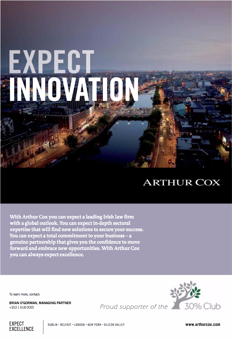 Arthur Cox – Expect innovation