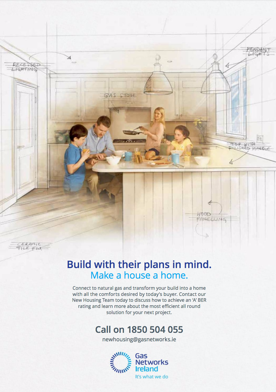 Gas Networks Ireland – build with their plans in mind