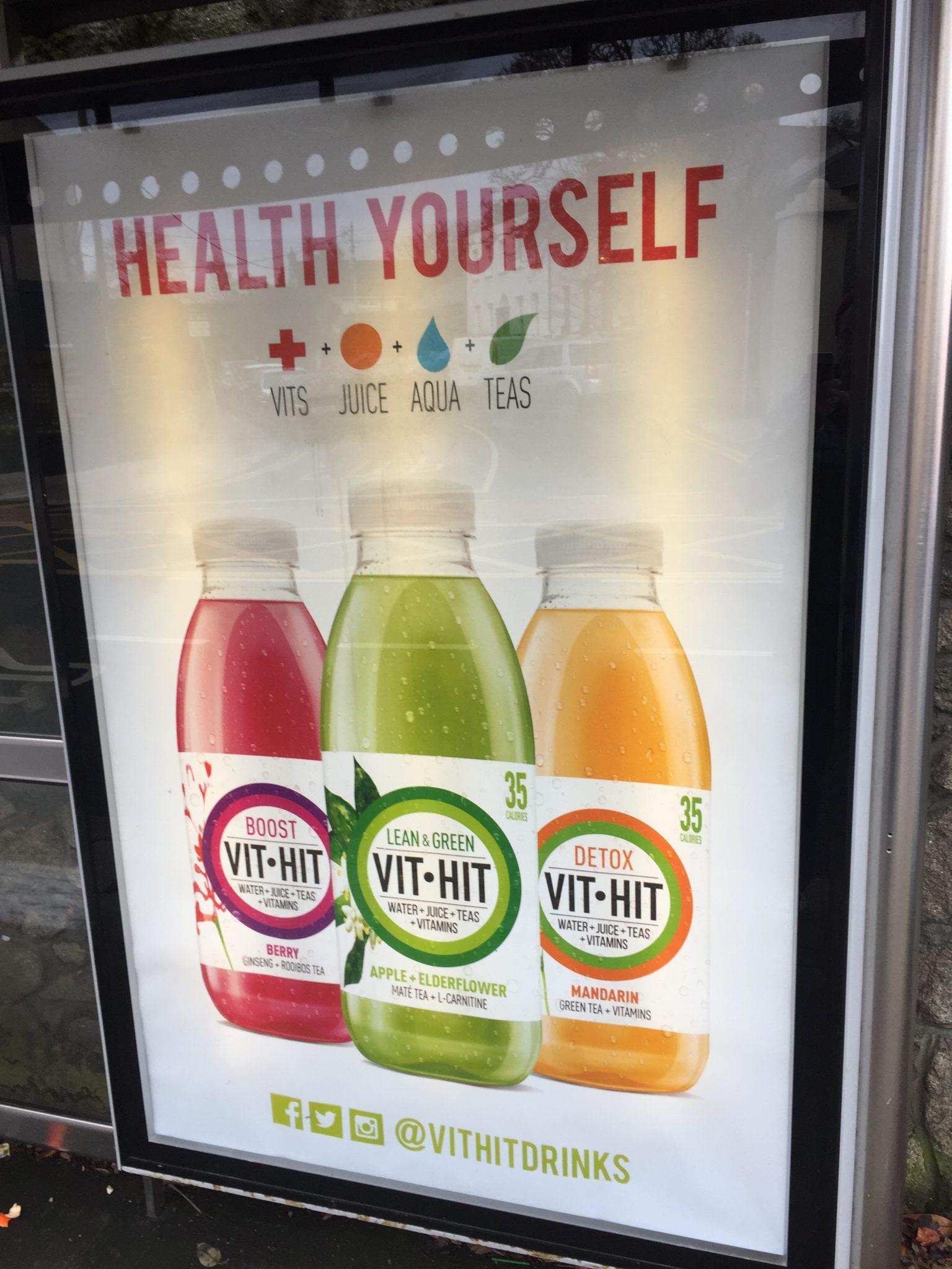 Vit Hit Health Yourself Smart Media Greeb But Shelter In Blackrock Co Dublin January 2017