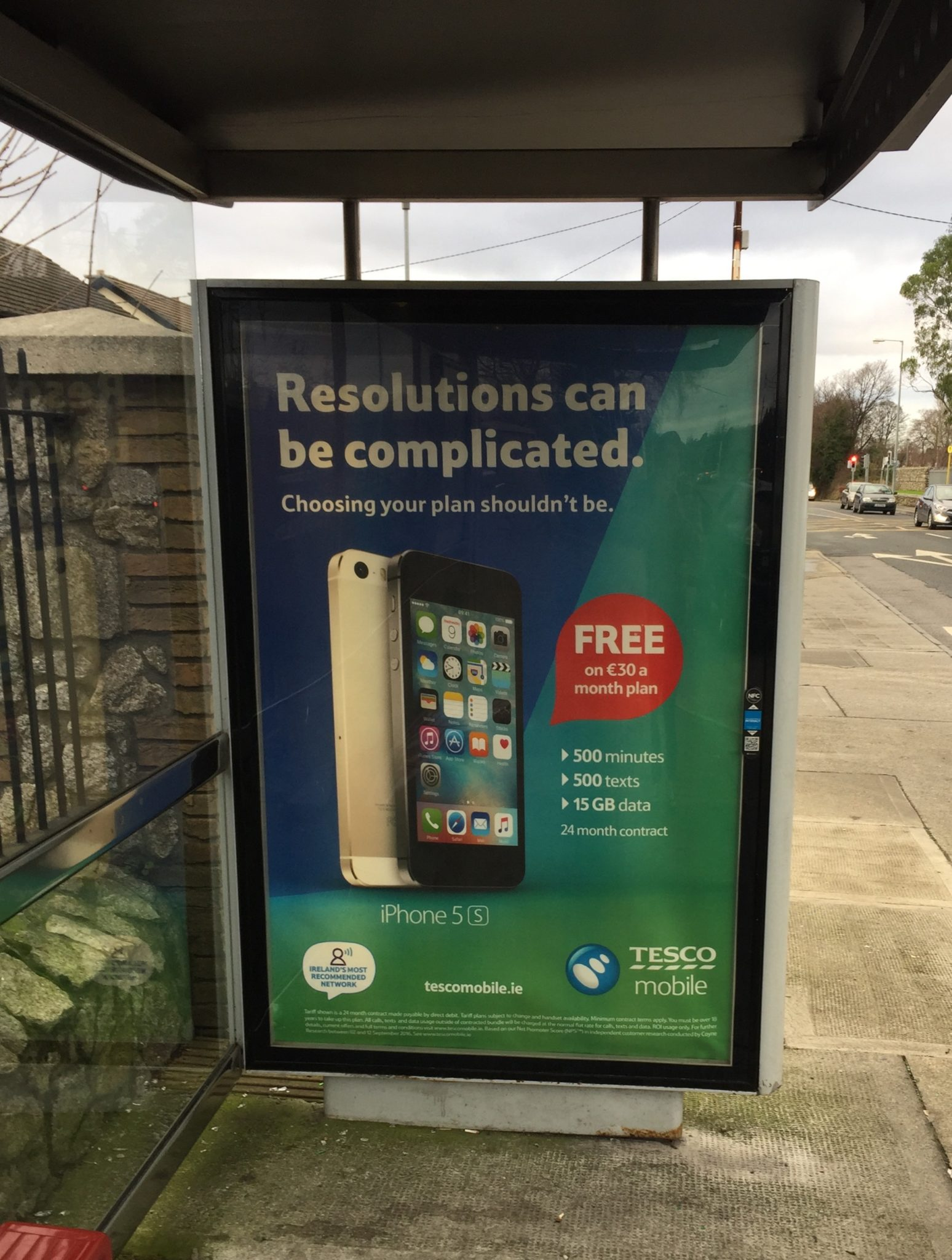 Tesco Mobile – Resolutions can be complicated – choosing your plan shouldnt be.