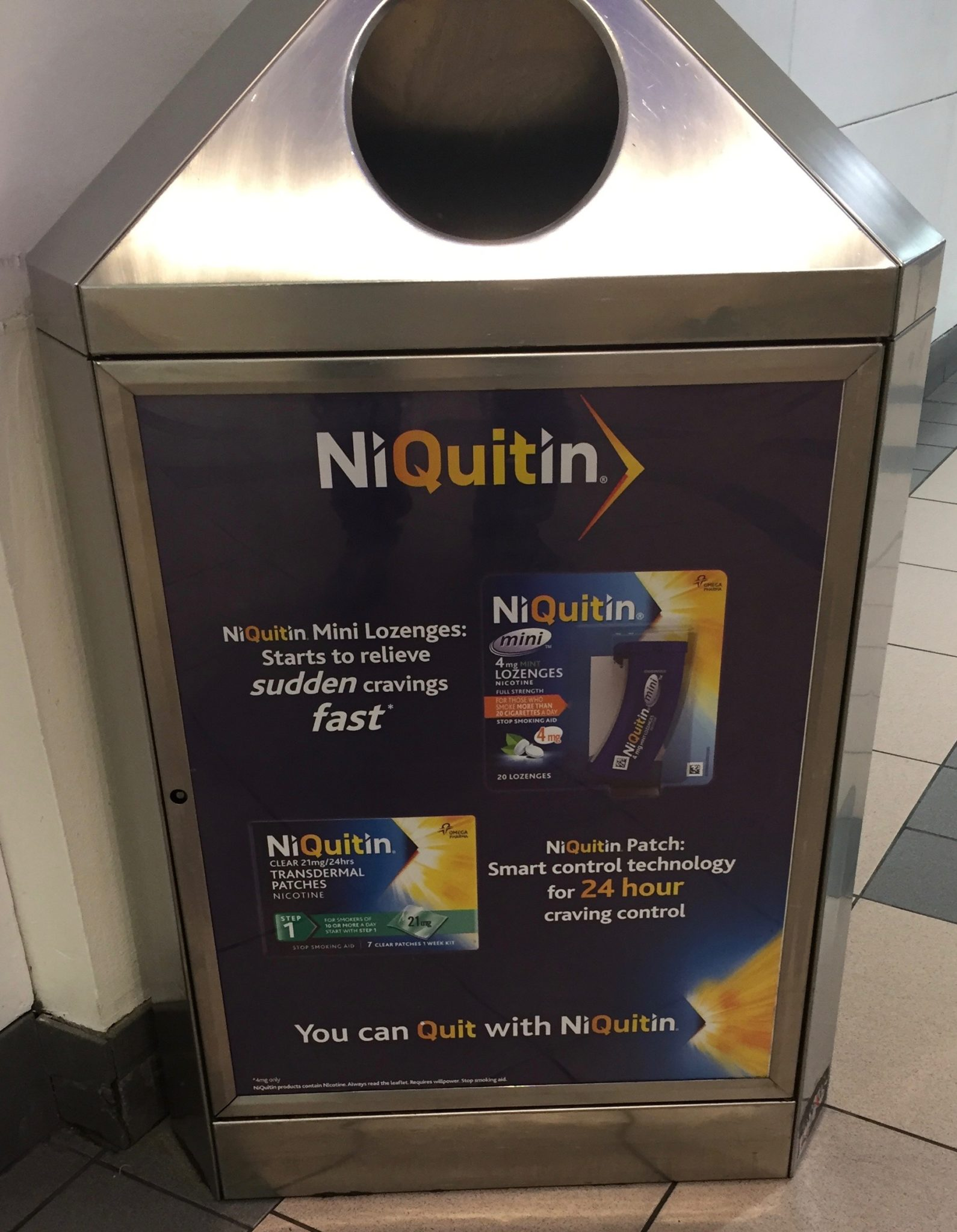 Niquitin – you can quit with niquitin