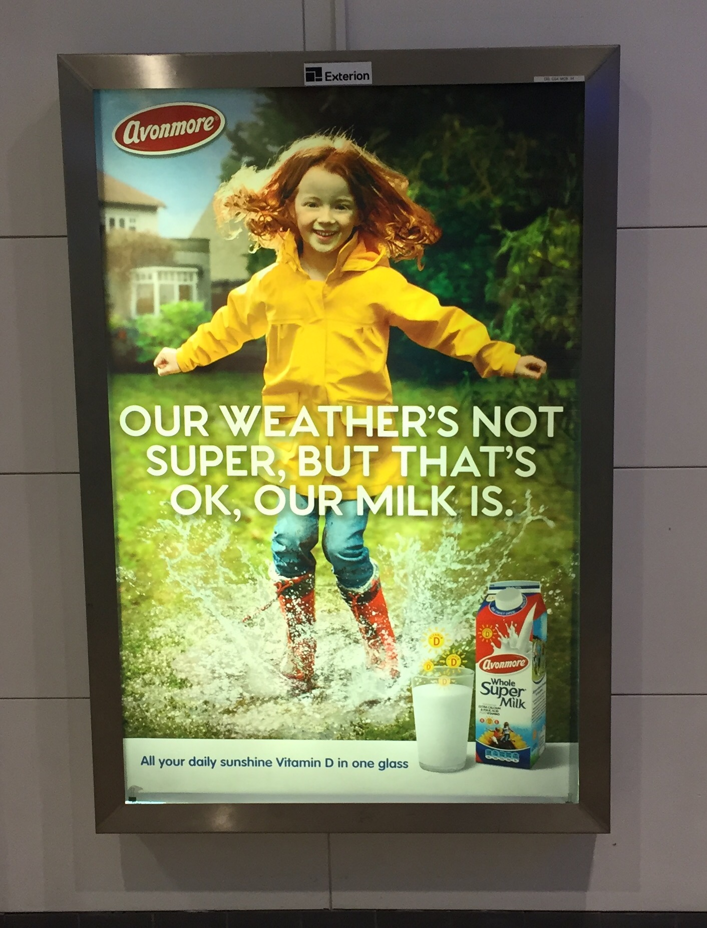 Avonmore Super Milk – our weather's not super but that's ok, our milk is
