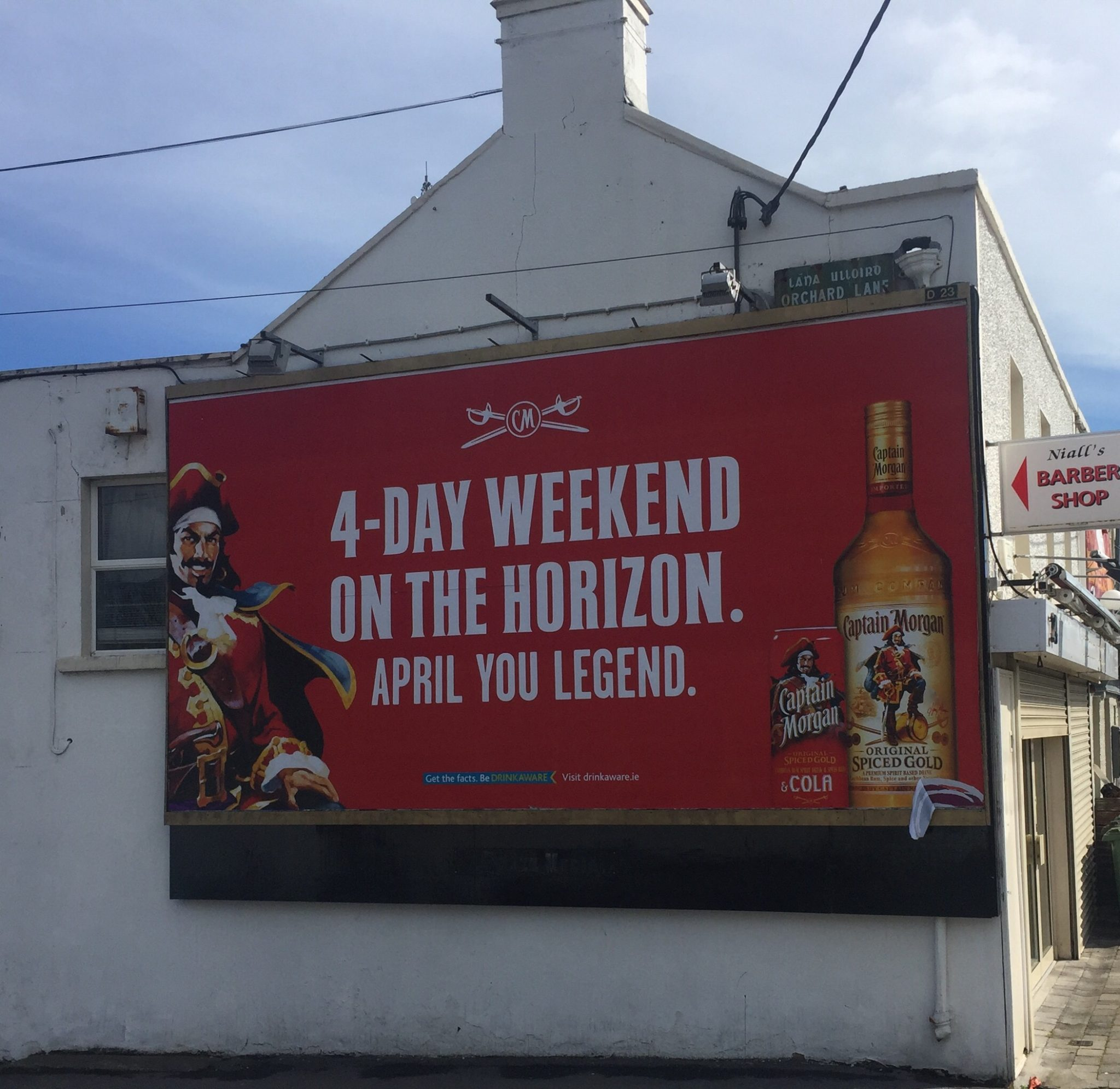 Captain Morgan – 4-Day weekend on the horizon