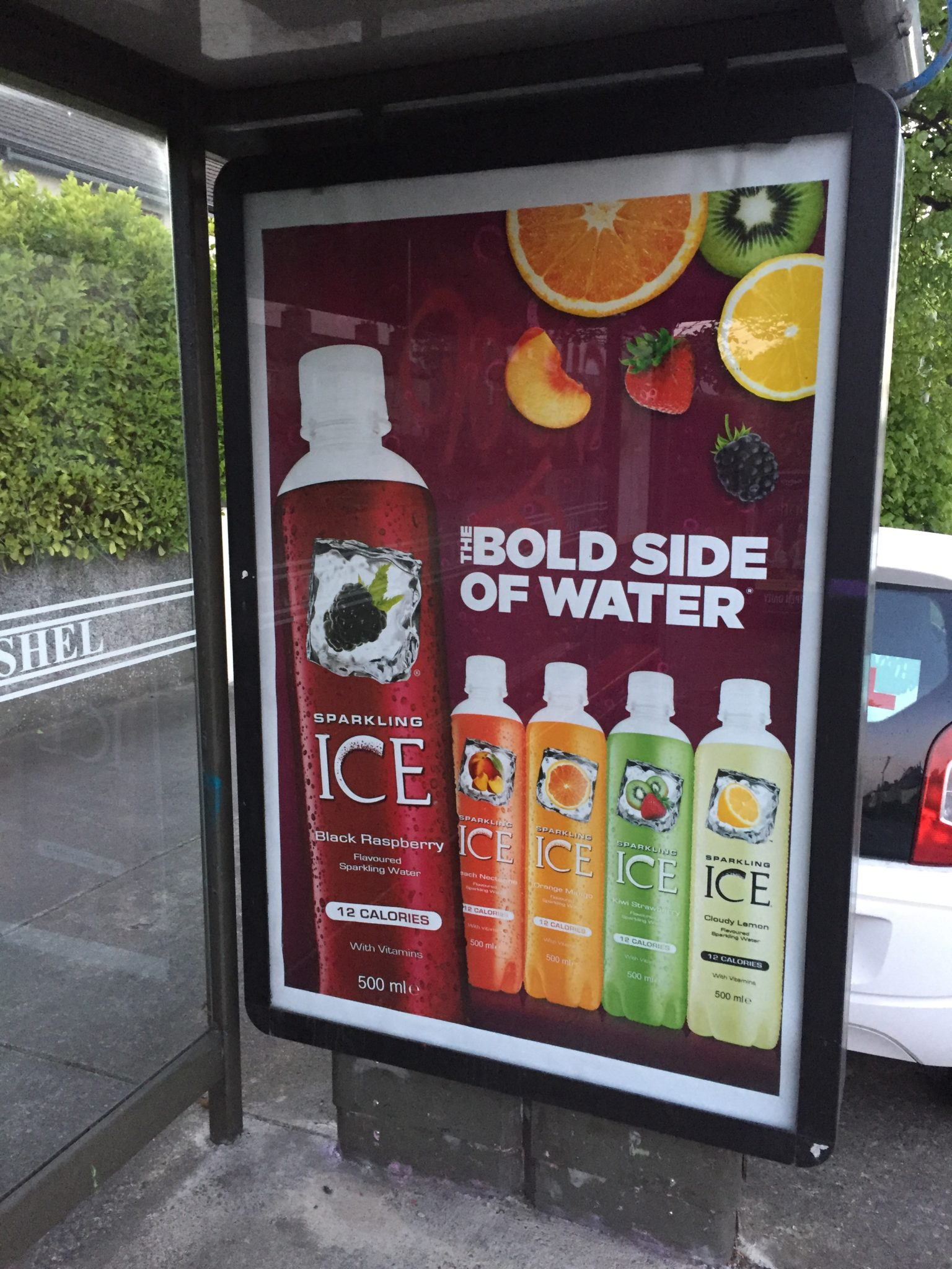 Sparkling Ice – the bold side of water