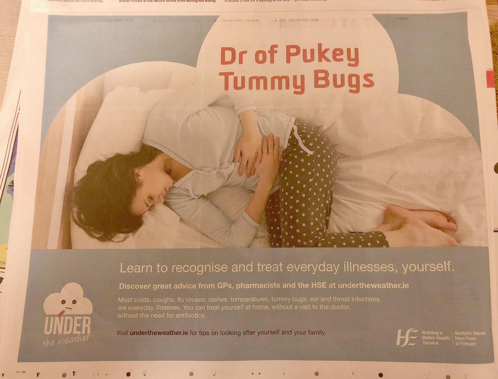 hse tummy bugs